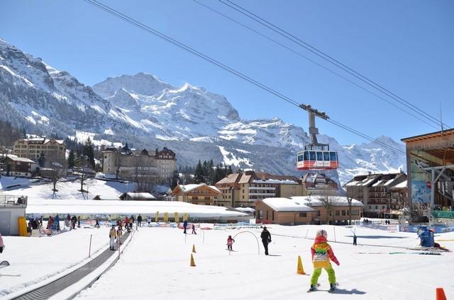 Горнолыжный курорт Гриндельвальд в Швейцарии: подъемники и скипассы