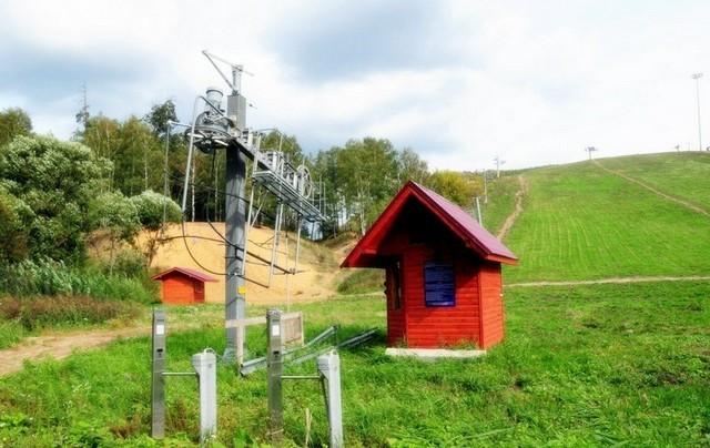 """Горнолыжный курорт """"Лисья гора"""" в Балашихе летом"""
