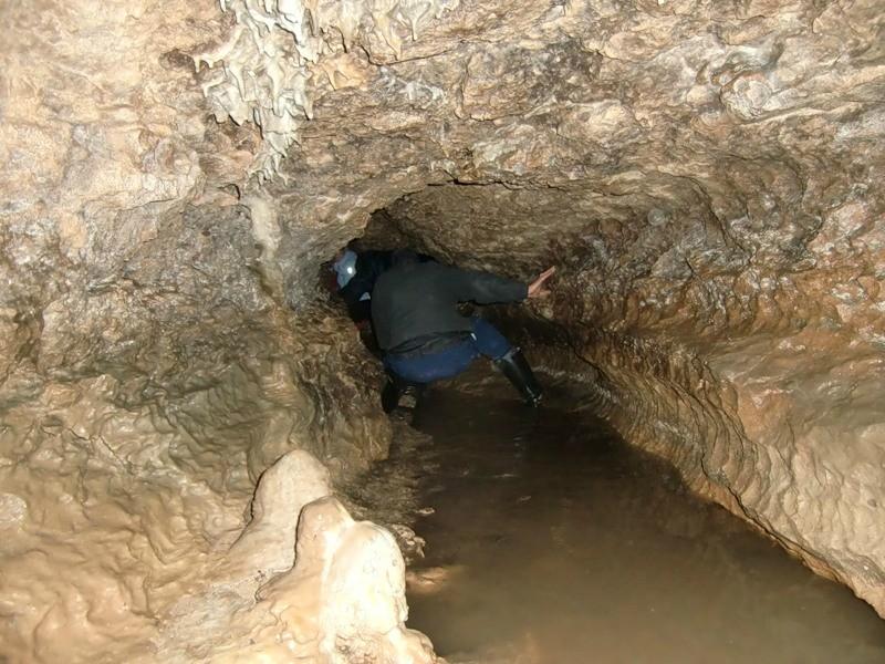 Пещера Духан в Лагонаки