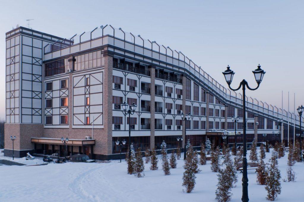 "Гостиница ""Квань"" на горнолыжном курорте, Калуга"