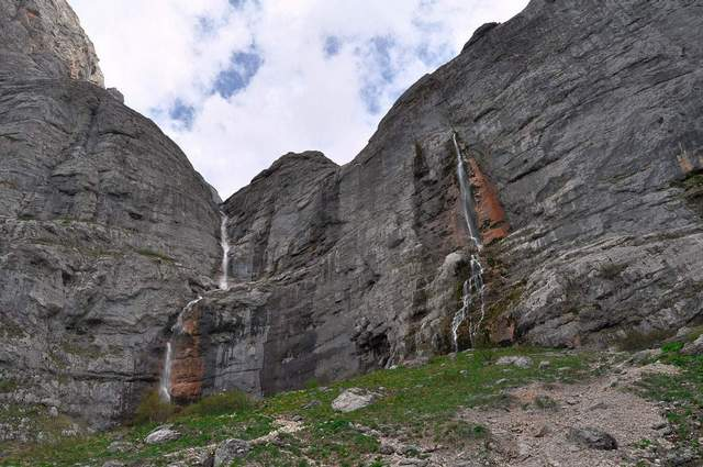 Водопады горы Фишт
