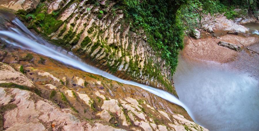 7 волшебных водопадов в Лагонаки - Руфабго, Мешоко, Курджипс и другие