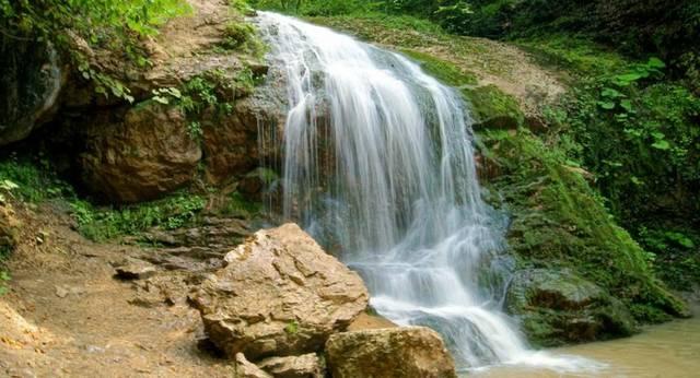 Водопады реки Курджипс