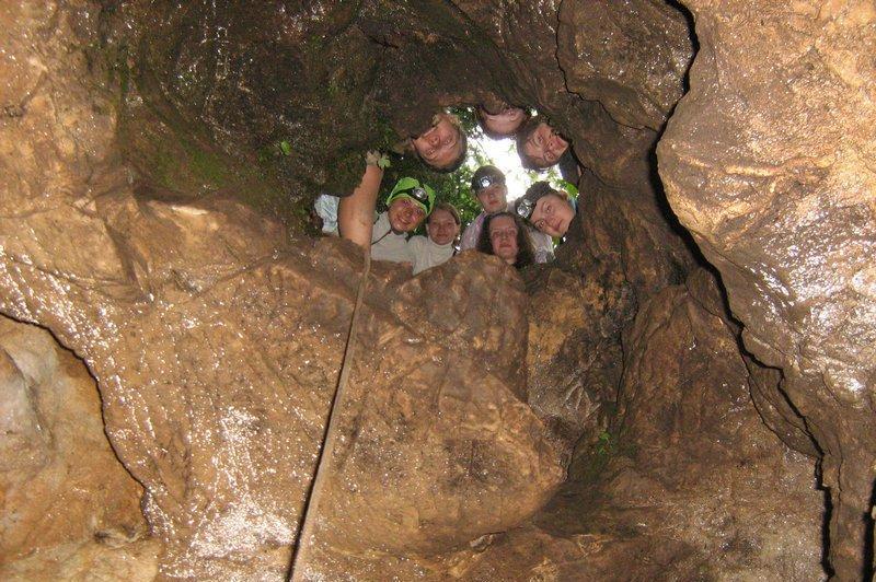 Пещера Малая Азишская в Лагонаки