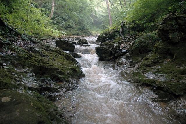 Водопады Мишоко в Лагонаки