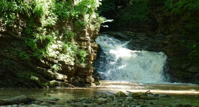Водопады реки Хаджох в Лагонаки