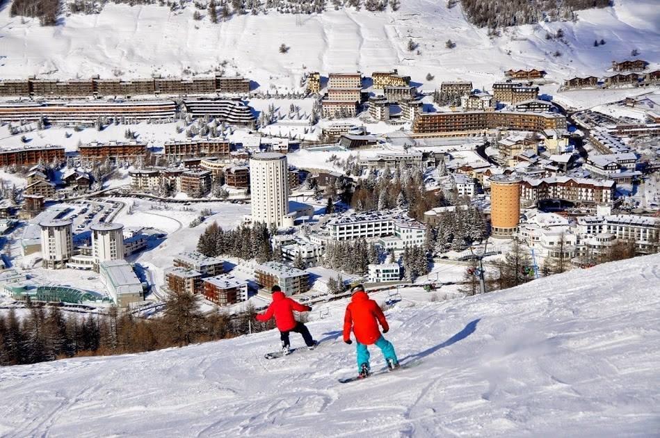 сестриере - горнолыжный курорт