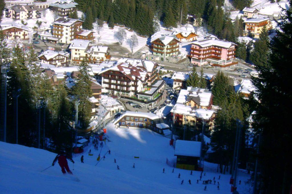 Мадонна ди Кампильо - горнолыжный курорт в Италии