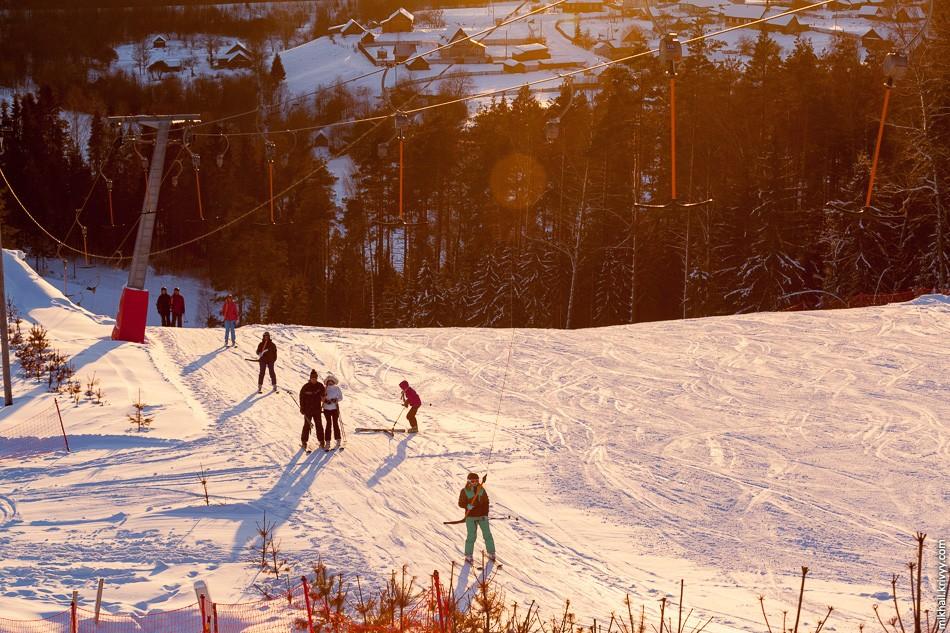 горнолыжный курорт Любогорье