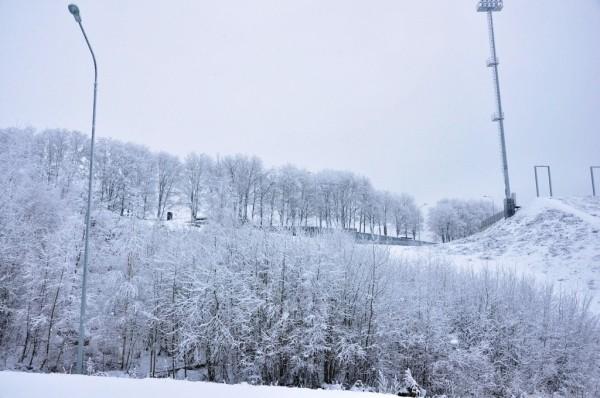 Подъемники на горнолыжном курорте Кавголово