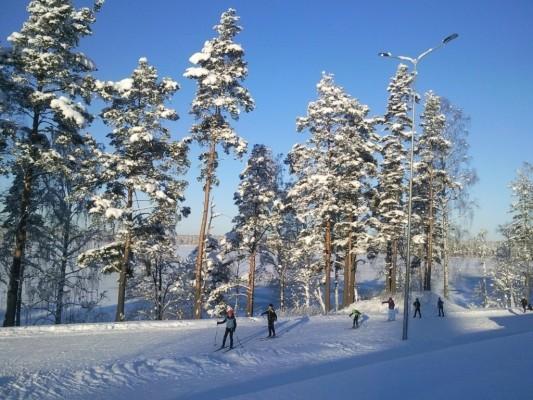 Горнолыжный курорт Кавголово