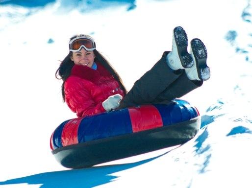 """Катание на ватрушках на лыжной базе """"Ива"""" в Пензе"""