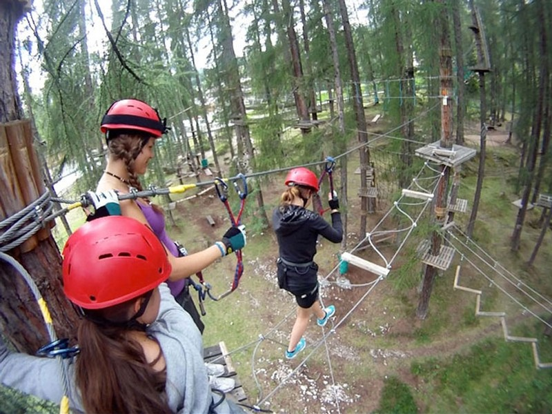 Парк приключений Cortina Adrenaline Centre